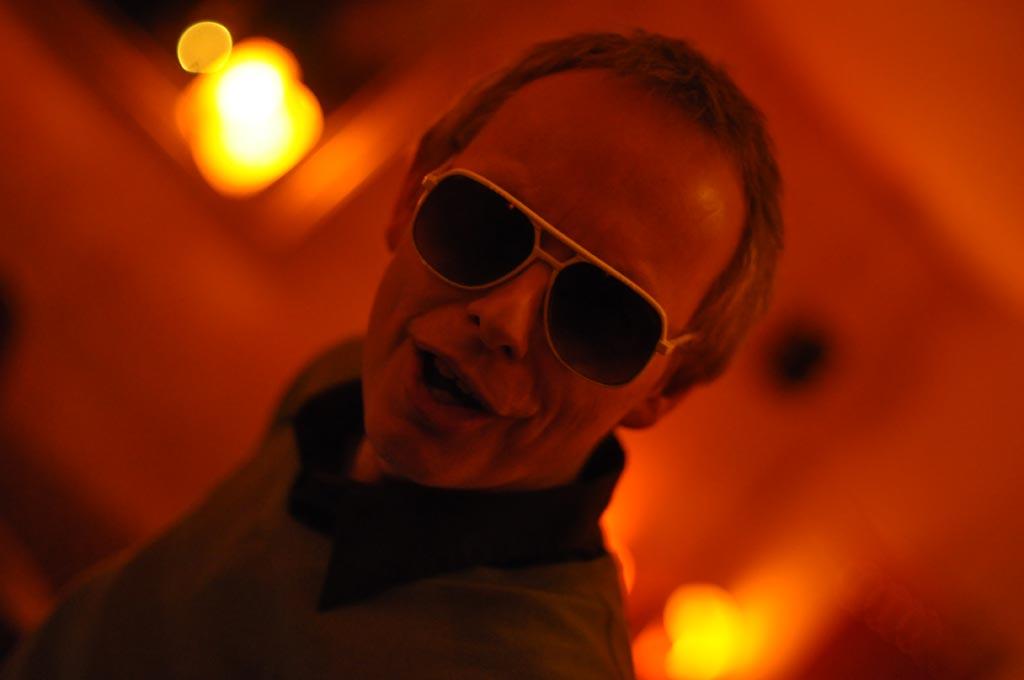 Günther mit Sonnenbrille