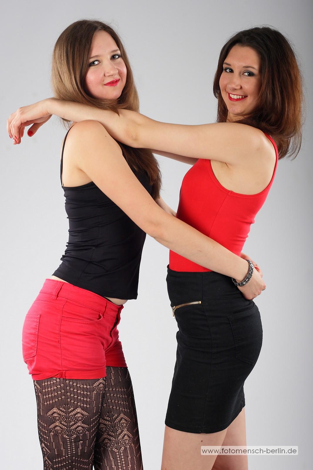 Geschwister-Shooting: Julia und Lisa
