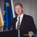 Präsident Bill Clinton in Berlin