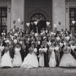 Gruppenfoto 21. Brautkleiderball