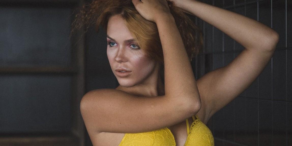 Olga in gelb