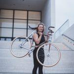 Und Mareike fährt nochmal Rad