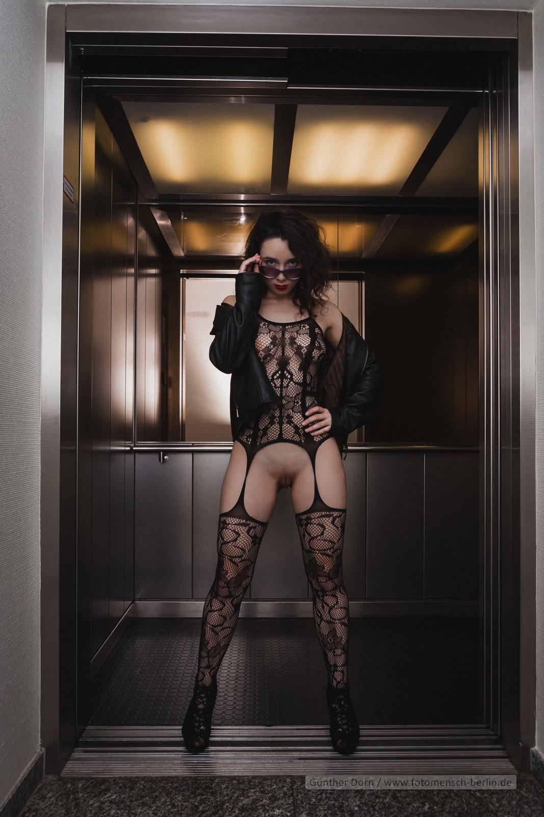 Wenn die Aufzugtür aufgeht…